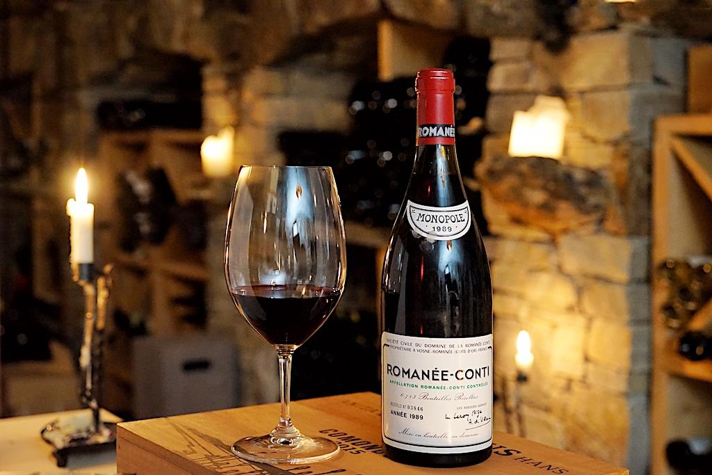 Bei der Domaine de la Romanée-Conti werden nur etwa 6.000 Flaschen pro Jahr abgefüllt