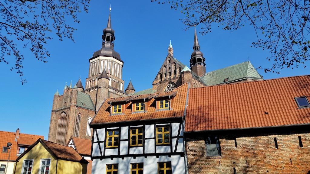 Die gotische Marienkirche in der Altstadt ist Norddeutschlands größte Backsteinkirche