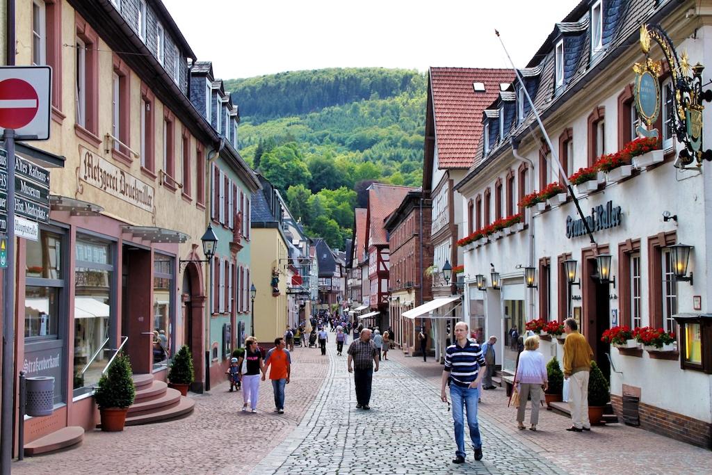 In der Altstadt von Miltenberg