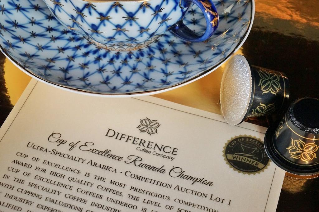 """Difference Coffee Company: Alljährlich wird der Wettbewerb """"Cup of Excellence"""" ausgetragen - nur die besten Kaffees kommen bei Amir Gehl in die Kapsel"""