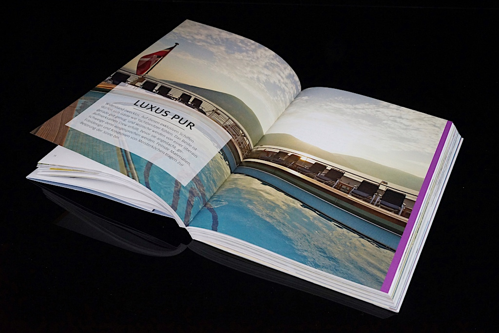 """36 Seiten werden der Rubrik """"Luxus pur"""" gewidmet"""