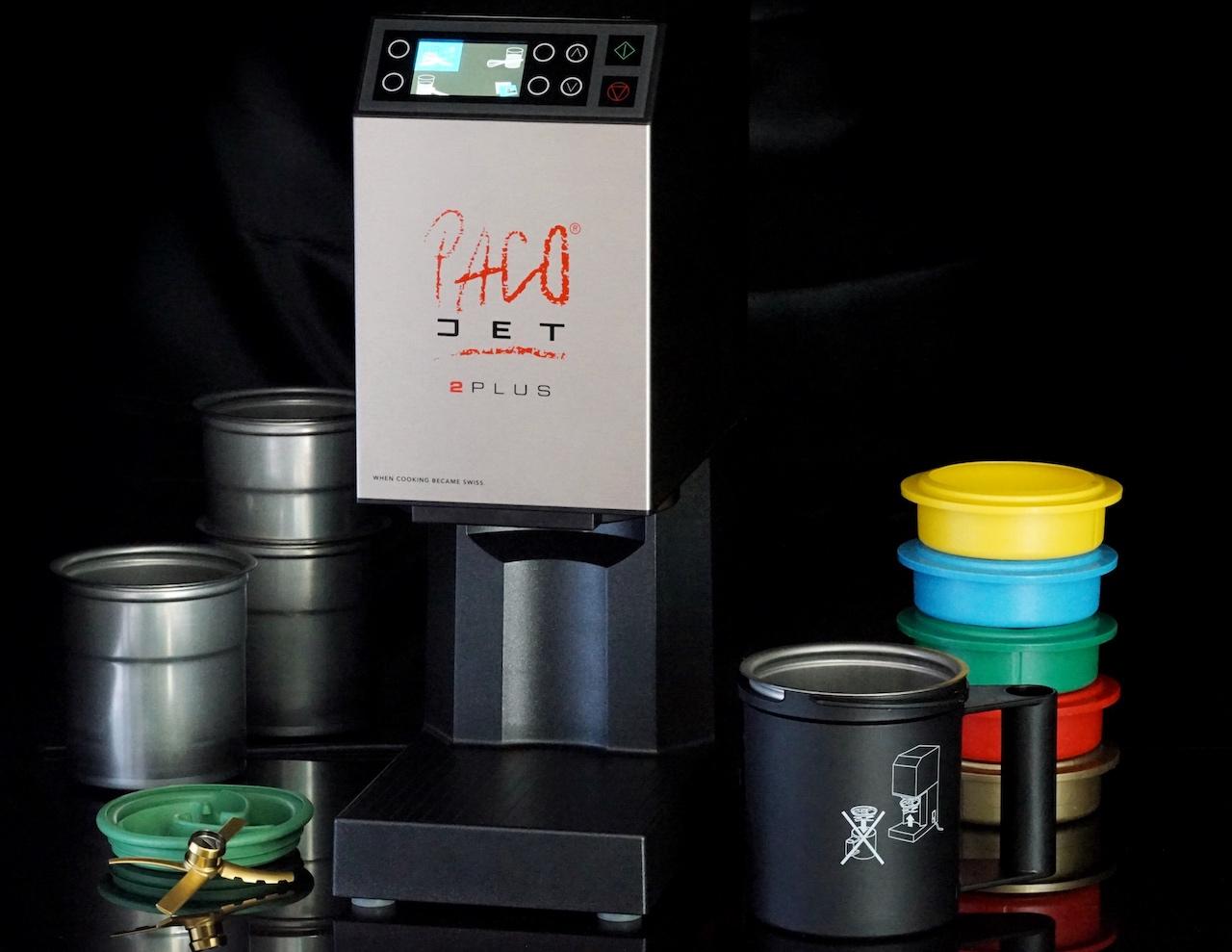 Der PacoJet 2 PLUS zählt zu den ultimativen Profigeräten und gehört in jede Küche, die etwas auf sich hält