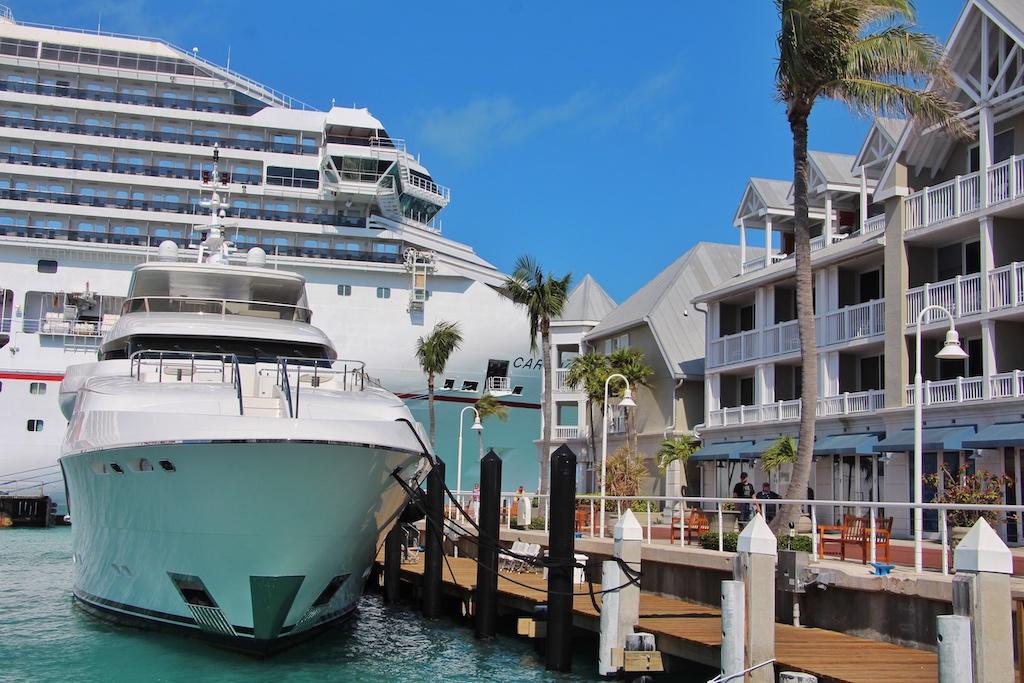 Die Zeiten, als die Florida Keys das Armenhaus der USA waren, sind lange vorbei. Heute liegen in Key West Luxusyachten im Hafen