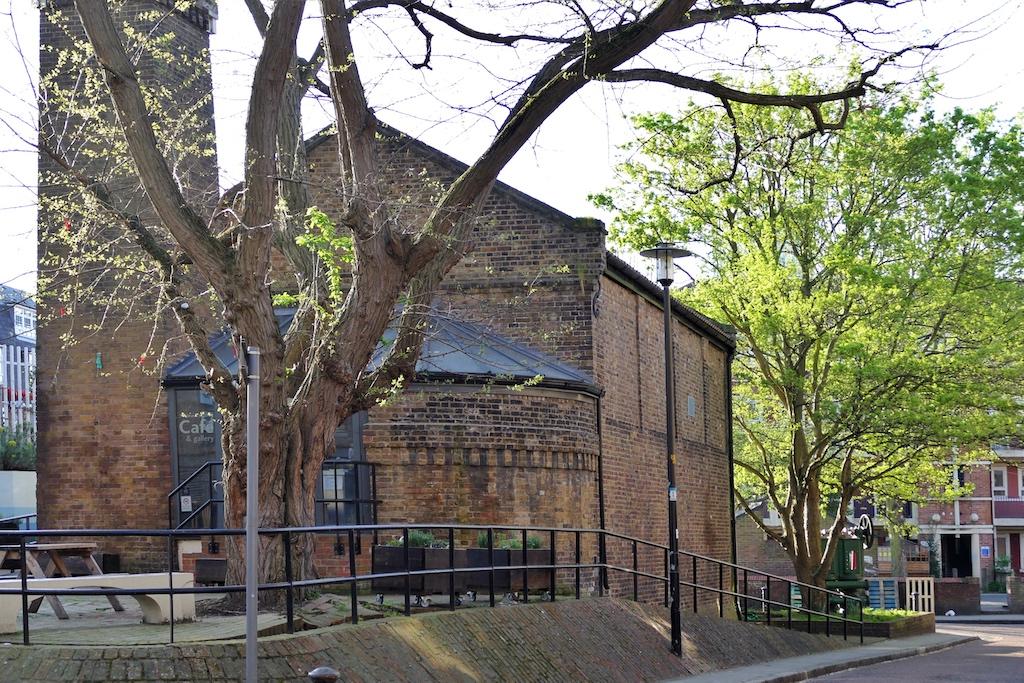 Das alte Pumpenhaus des Thames Tunnel in Rotherhithe beherbergt heute ein Museum zur Geschichte des Bauwerks