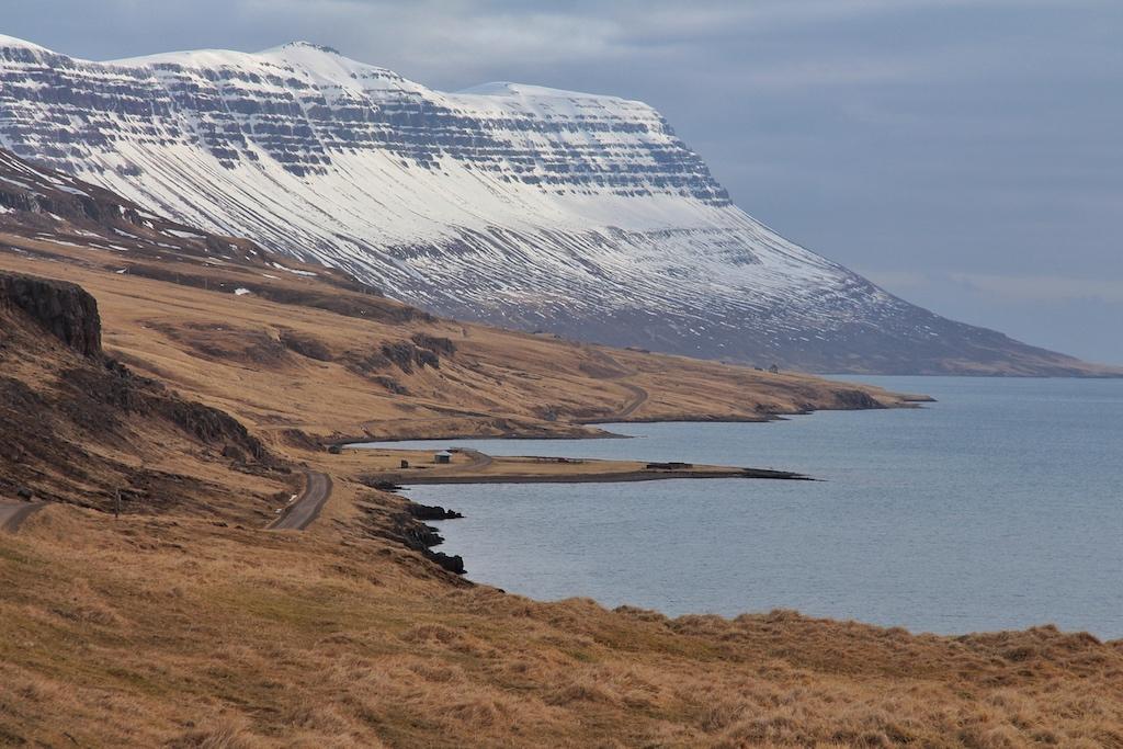 Auch in der unmittelbaren Umgebung von Seydisfjördur ist die isländische Landschaft atemberaubend