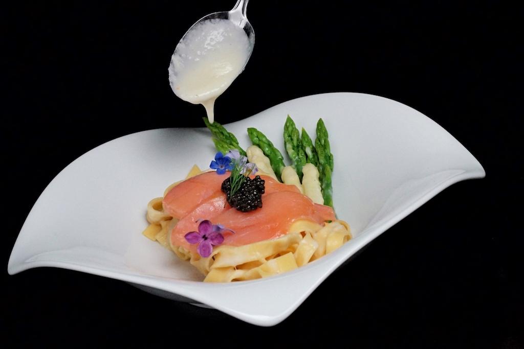 ... oder zu einem fantastischen Gericht werden - hier mit Balik Tagliatelle
