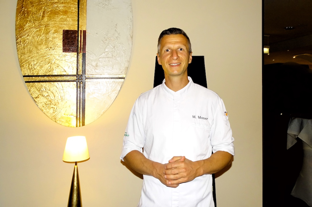 Sternekoch verwöhnt im Gourmetrestaurant Aubergine mit schmackhaften Kreationen