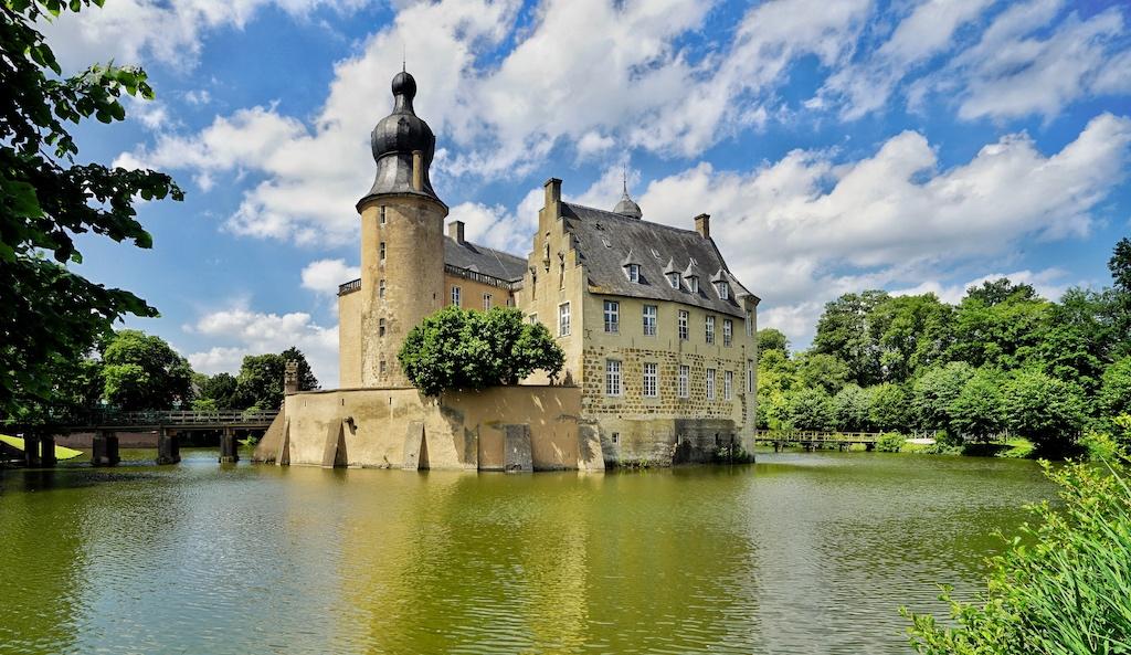 Die Jugendburg Gemen - eine der wohl schönsten Burgen im Münsterland