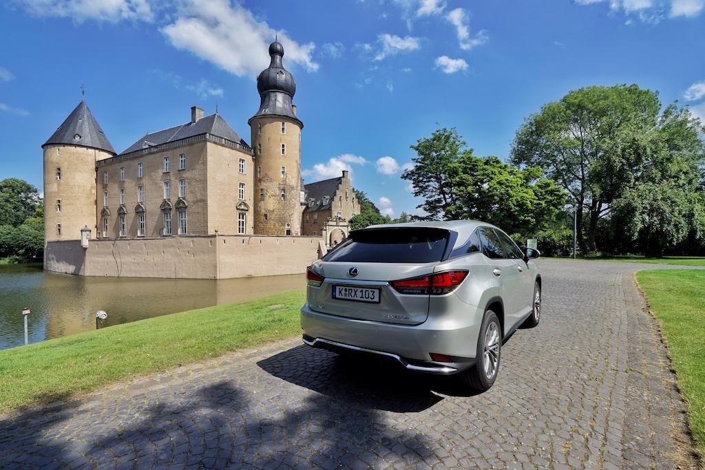 Unser Stopp an der Jugendburg Gemen. Wir danken dem Bistum Münster, dass wir den RX auf der Anlage ablichten durften, denn der Bereich der Anlage ist Spaziergängern vorbehalten