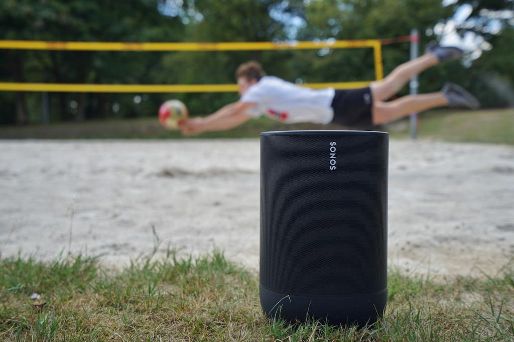 ...auf dem Volleyballfeld..