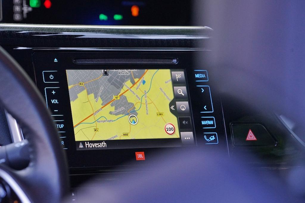 Das Display im Toyota MIRAI könnte von den Ausmaßen etwas größer ausfallen