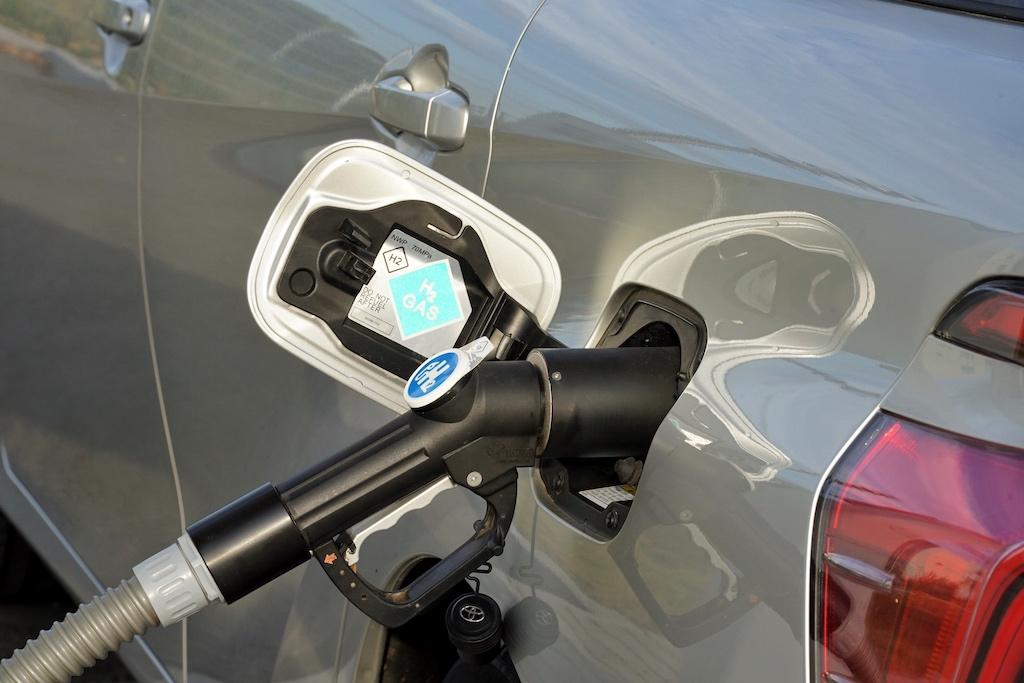 Das Tanken von Wasserstoff ist sehr simpel