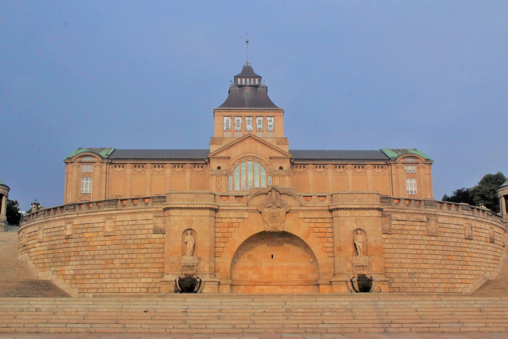 Die Hakenterrasse und das Wahrzeichen Stettins