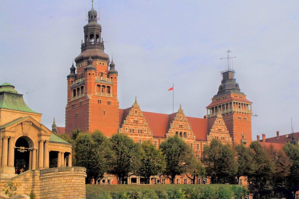 Die ehemalige Pommersche Landesregierung und heutiger Woiewodschaftssitz