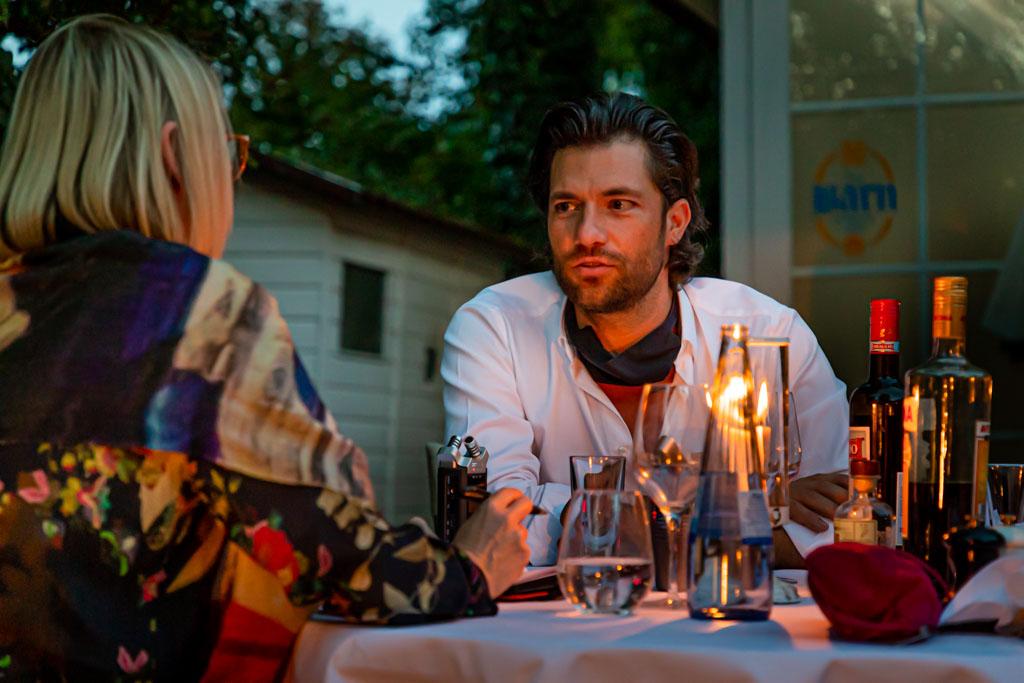 Gastgeber mit apulischen Wurzeln: Fabio Elia / © FrontRowSociety.net, Foto: Georg Berg