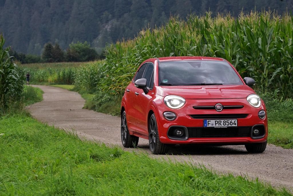 Das kleine SUV 500X Sport ...