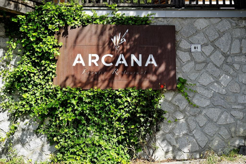 Das Gourmet-Restaurant ARCANA ist über die Grenzen hinaus bekannt...