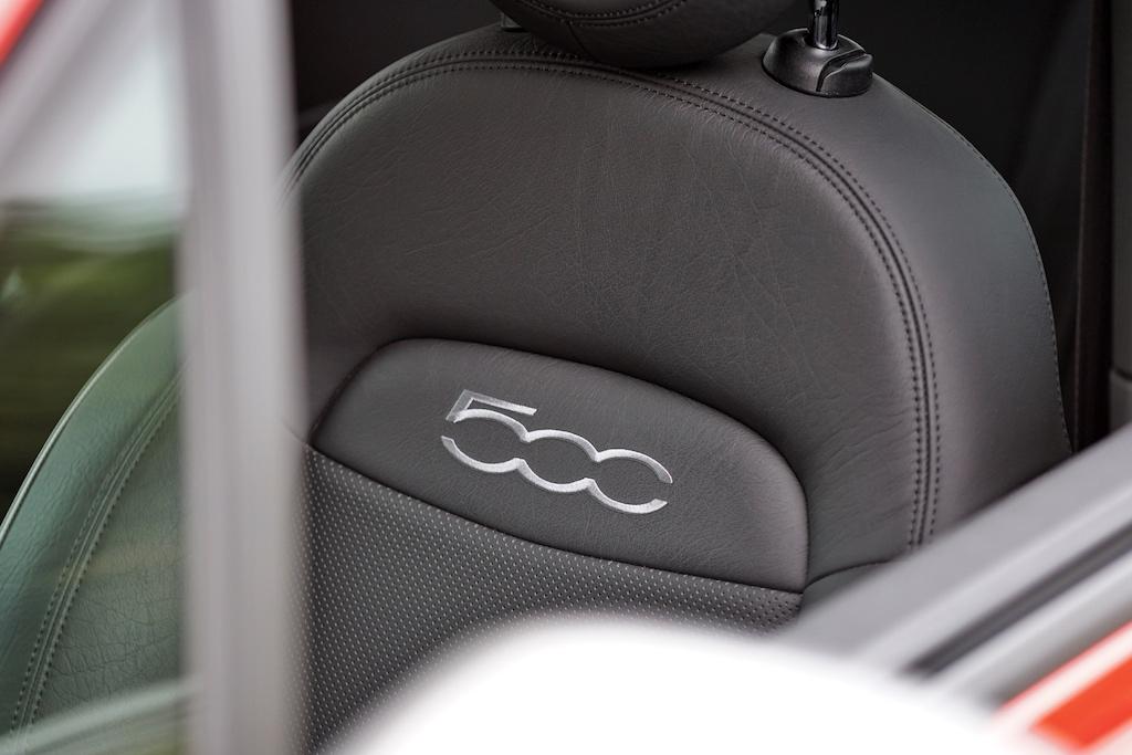 Das Innendesign des 500X Sport ...