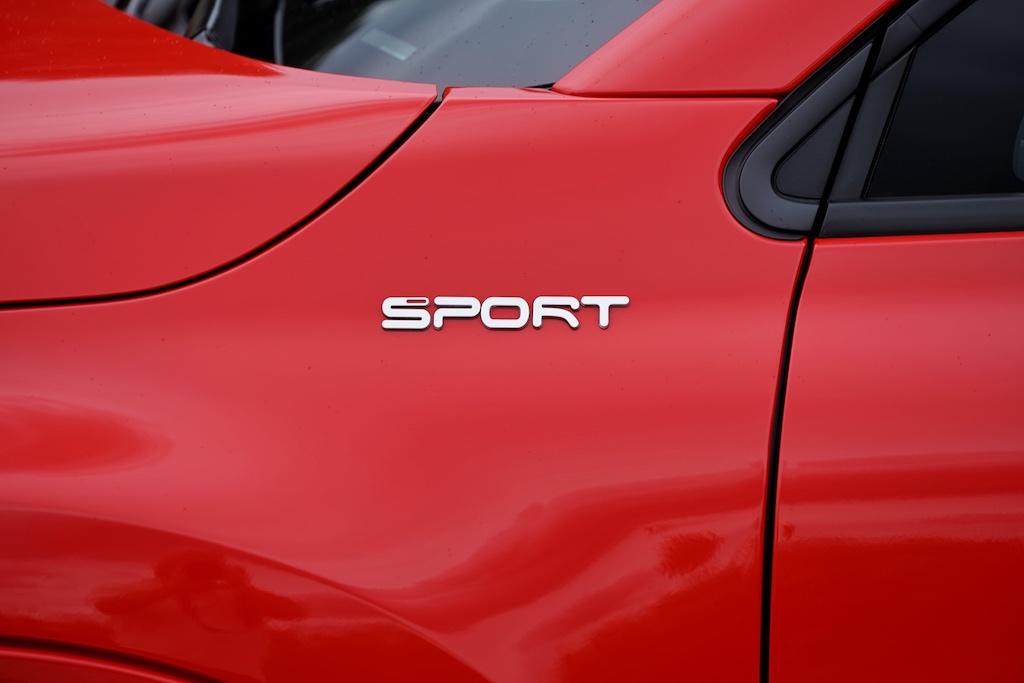 Der Sport-Schriftzug