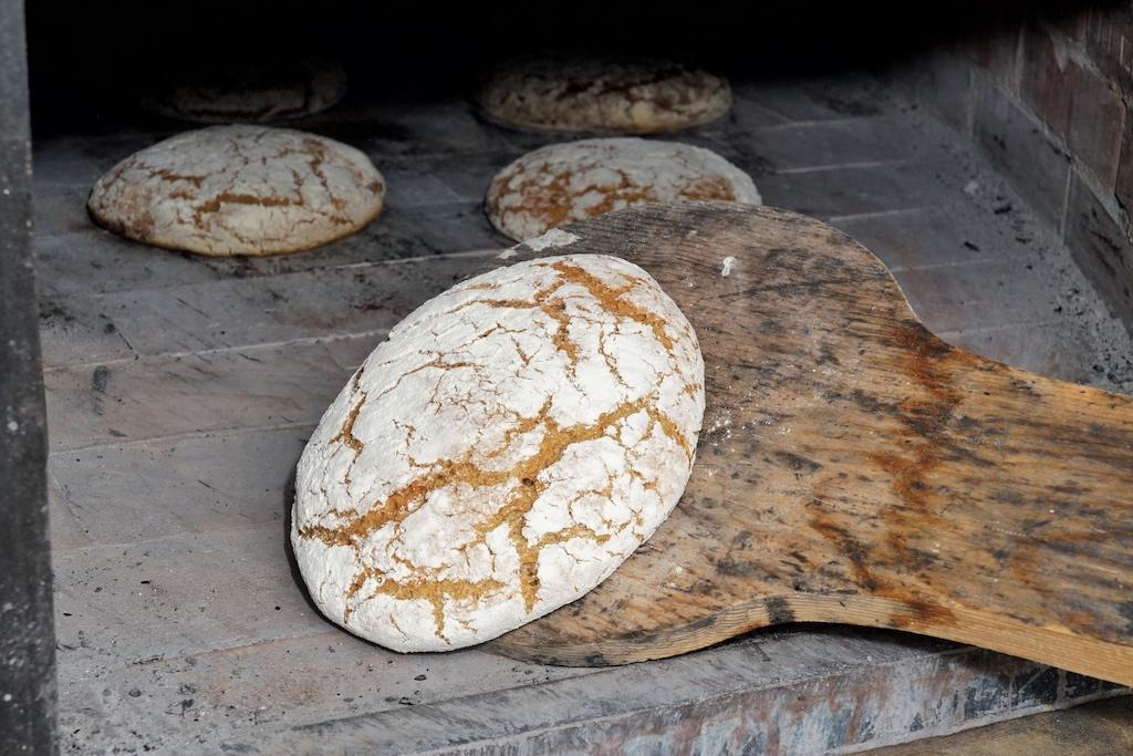 ... zu erstklassigen Broten gebacken