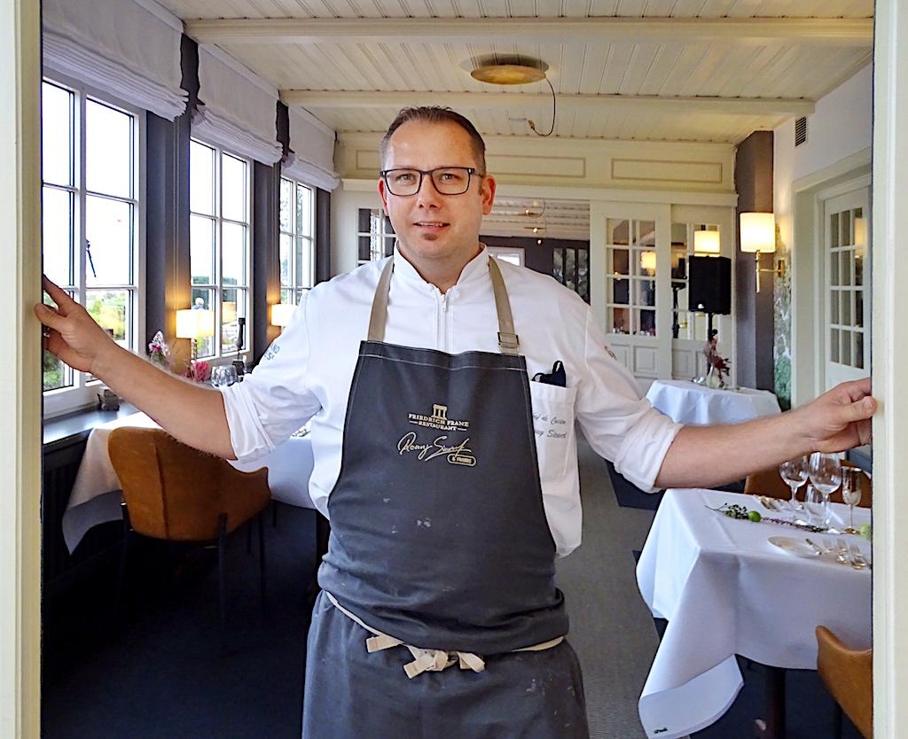 Sternekoch Ronny Siewert begeistert im Hotel Wassersleben beim Schleswig-Holstein Gourmet Festival
