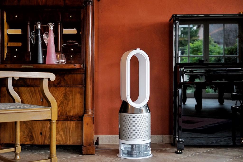Ob modern oder klassisch, der Dyson Pure Humidify+Cool Luftbefeuchter fügt sich in jede Umgebung ein