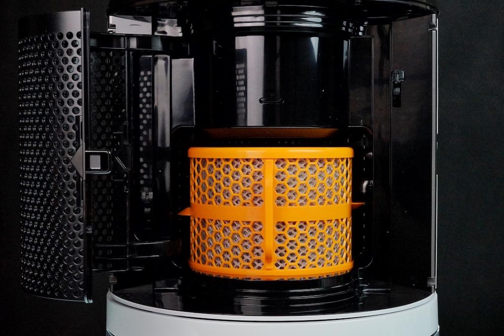 Der Tausch des Filters ist recht einfach zu handhaben