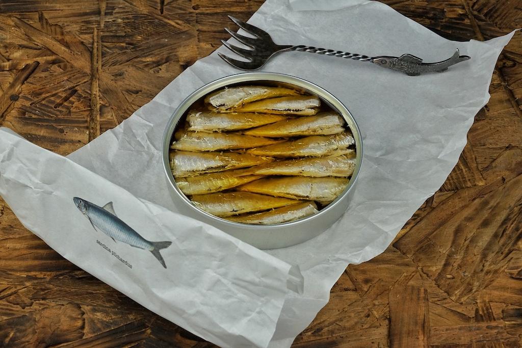 Feinste Sardinen, 2019 gefischt vor der Küste Galziens