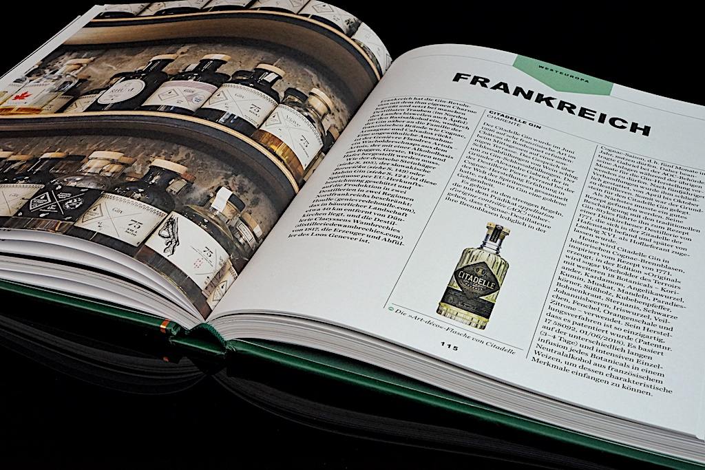 Auf über 25 Seiten Wissen und Fakten zum Thema Gin und auf über weiteren 200 Seiten eine Auflistung der besten Gins aus 50 Ländern