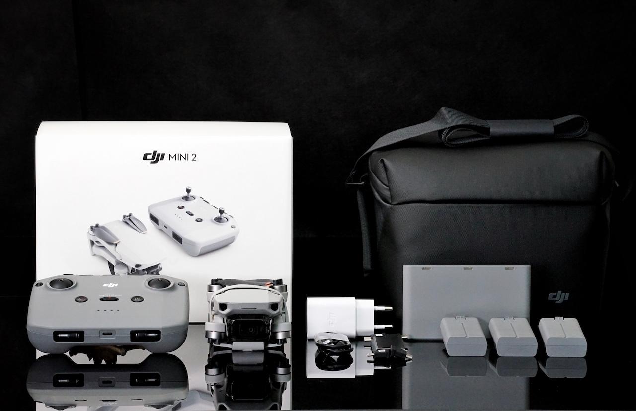 Unser Tipp: Paket DJI Mini 2 Fly More Combo zu erwerben, zusätzliche Akkus sind immer zu gebrauchen
