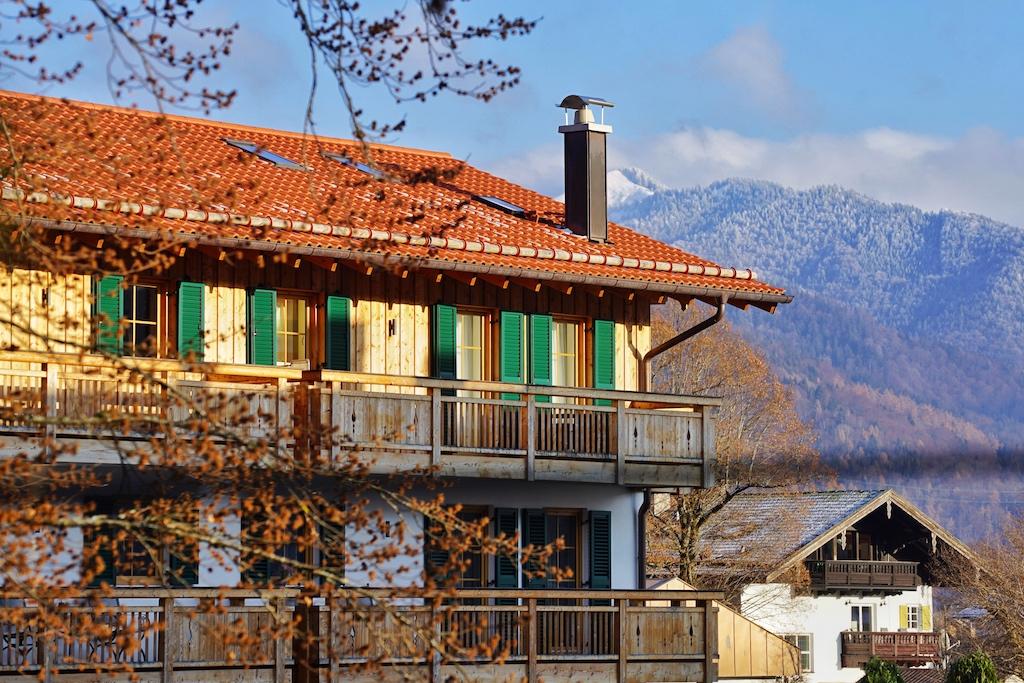 ... in welchem sich 9 luxuriöse Ferienwohnungen befinden, ....