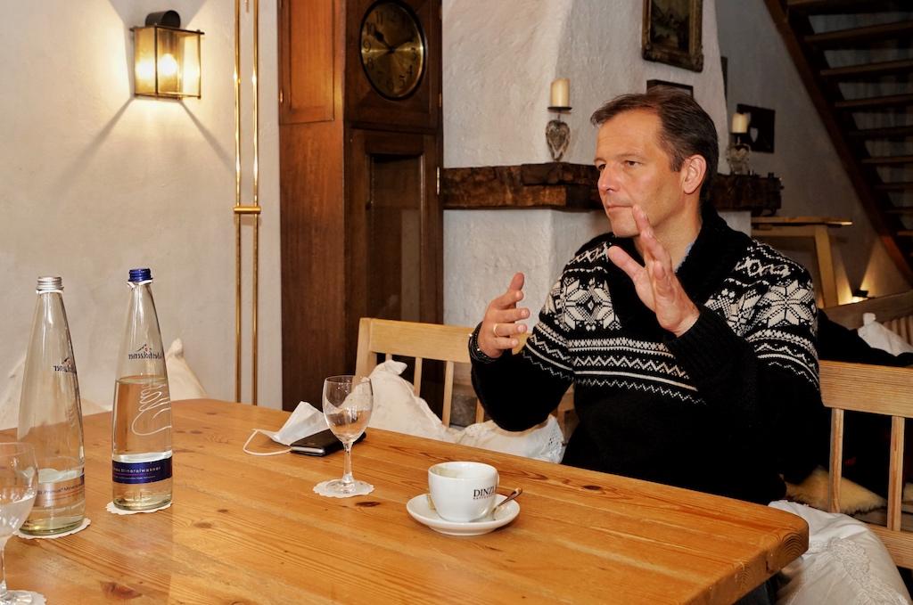 Im Lockeren Austausch: Sternekoch Thomas Kellermann hat für das Jahr 2021 einige kulinarische Highlights geplant