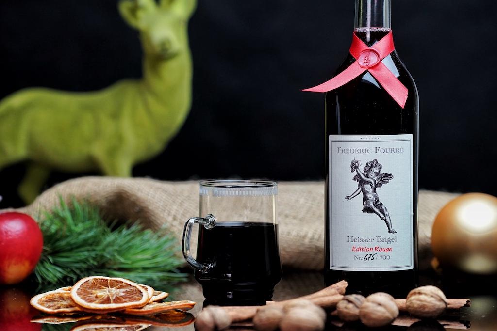 """Die Edition Rouge des Glühweins """"Heisser Engel"""" ist leicht und lecker, mit nur 8,5% vol. Alkohol"""