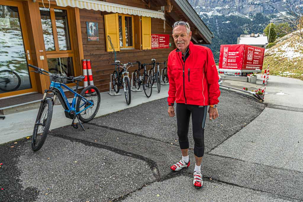 Die Infrastruktur für Radfahrer ist hervorragend. In Albinen betreibt Roland Holzer seinen Biker-Service / © FrontRowSociety.net, Foto: Georg Berg