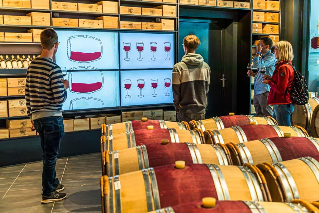 Eine Tour durch die Weinberge kann man auch mit einer Portion Weinkunde im Önopark von Les Celliers de Sion ausklingen lassen / © FrontRowSociety.net, Foto: Georg Berg
