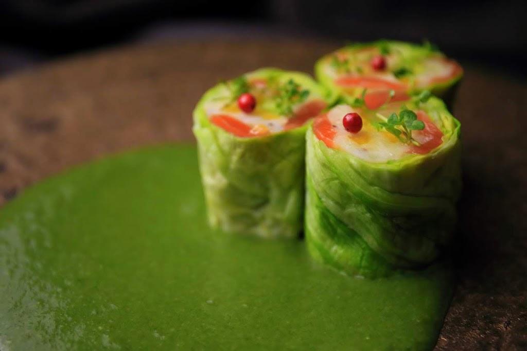 Potage von Spinat - auch in Japan sind Suppen sehr beliebt