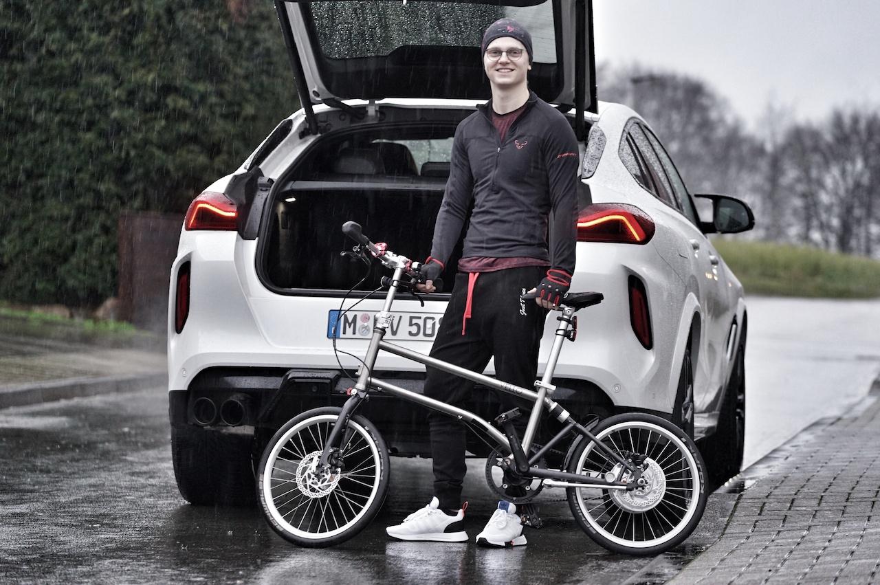 VELLO: Ein E-Bike welches so faltbar ist, ...