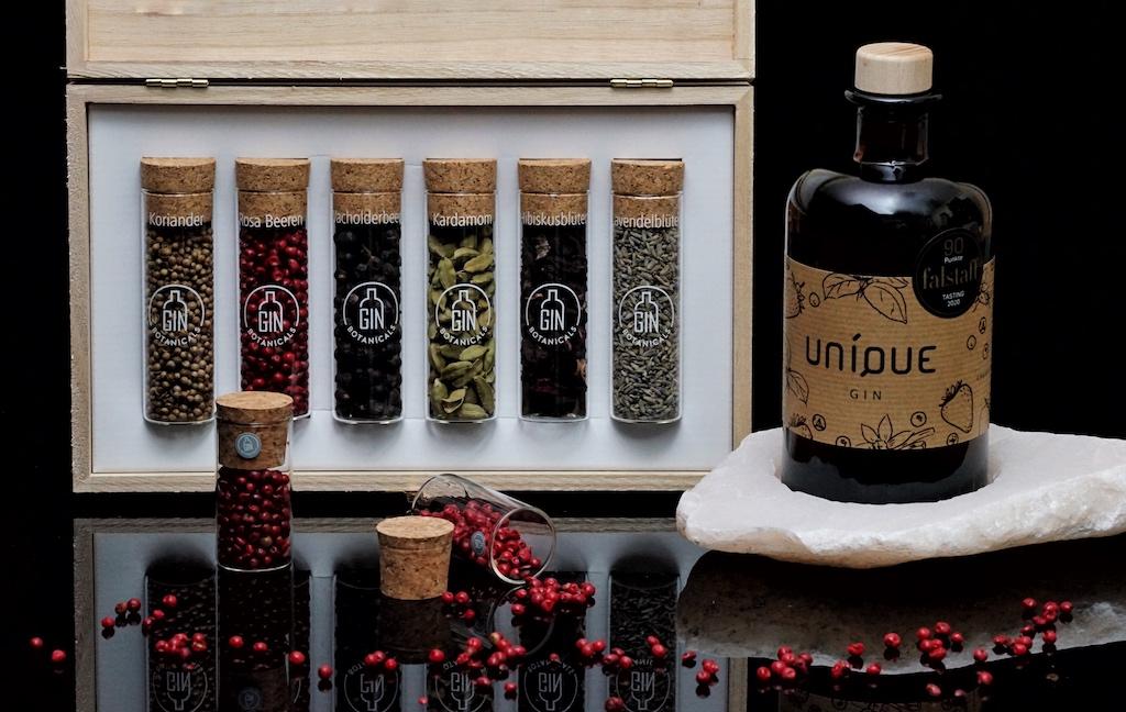 UNIQUE GIN - ein außergewöhnlicher Gin aus Hessen