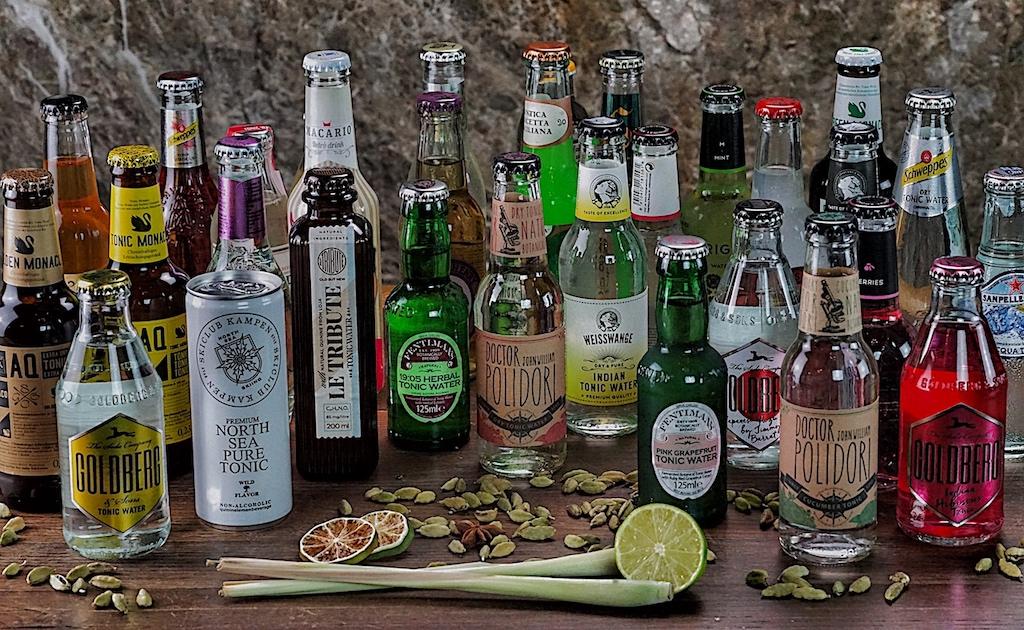 Gin probieren wir grundsätzlich mit den verschiedenen Mixern. Durch Tonic Water erhält ein Gin jeweils eine neue Note