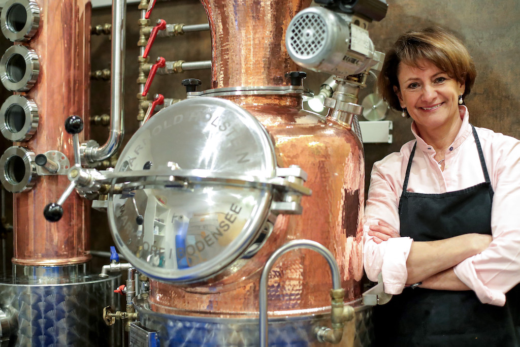 Rosi Huber, die Brennerin vom Attersee