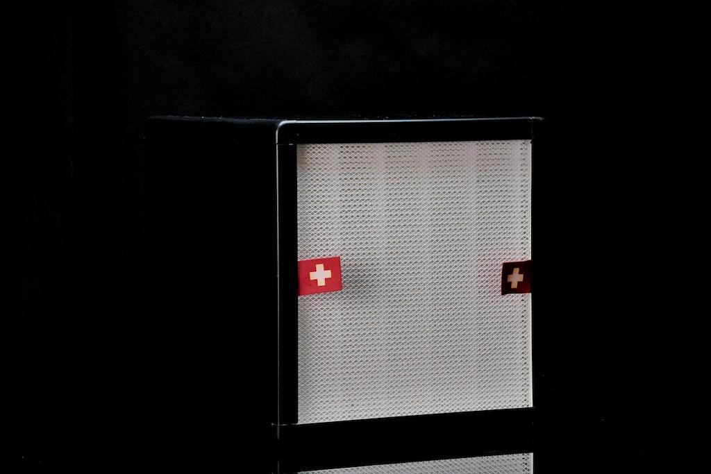 ... kann die Filterbox rausgezogen und so auf einfachstem Wege erneuert werden