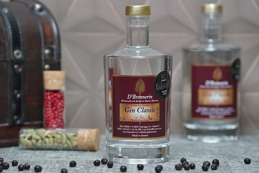 Gin Classic steht für typischen Wacholder-Genuss, rein und mild