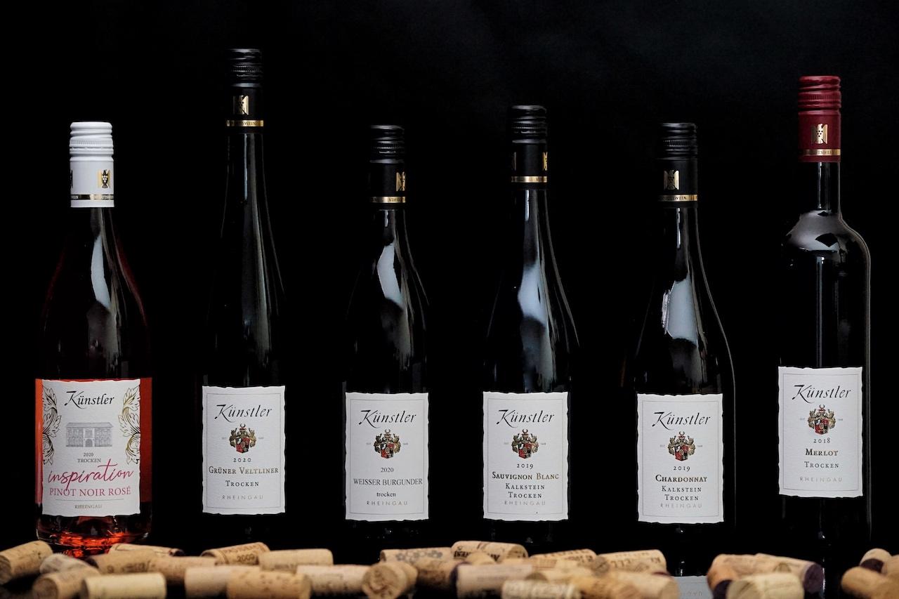 Online-Weinverkostung - Künstler einmal anders