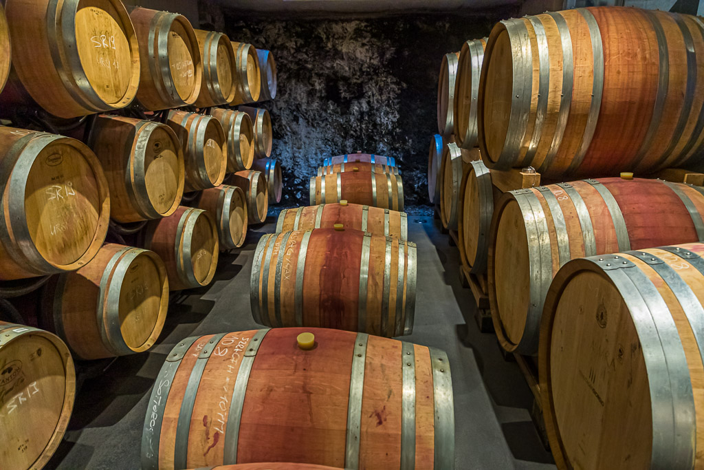 In der Tenuta San Giogio wird bevorzugt mit Französischer Eiche gearbeitet / © FrontRowSociety.net, Foto: Georg Berg / © FrontRowSociety.net, Foto: Georg Berg