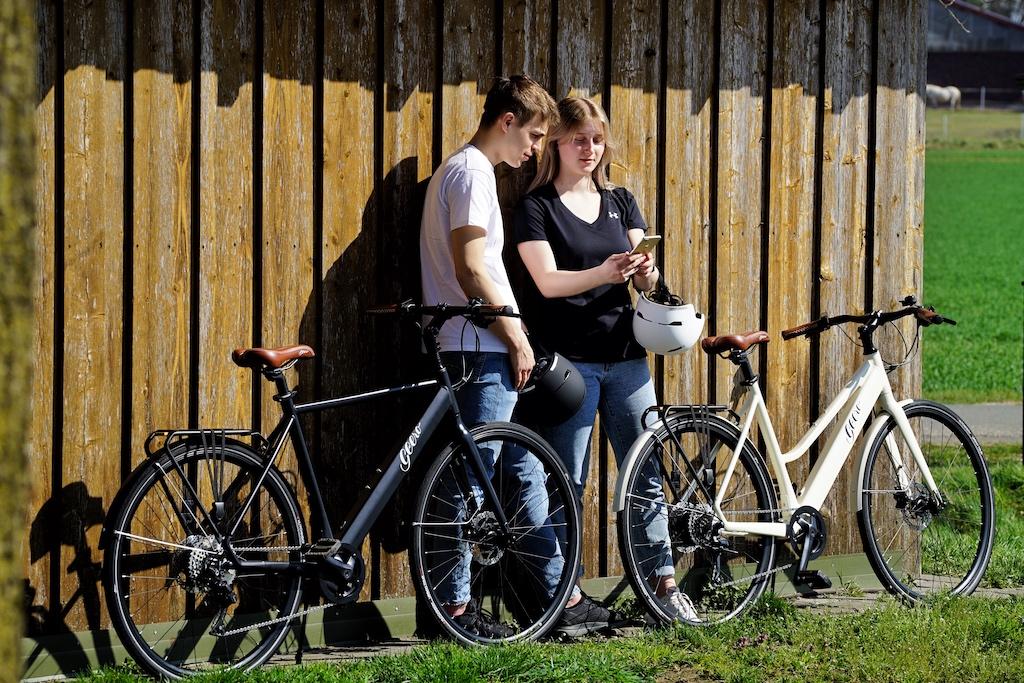 Beliebt auch bei den jungen Generation - denn GEERO konstruiert keine langweiligen E-Bikes