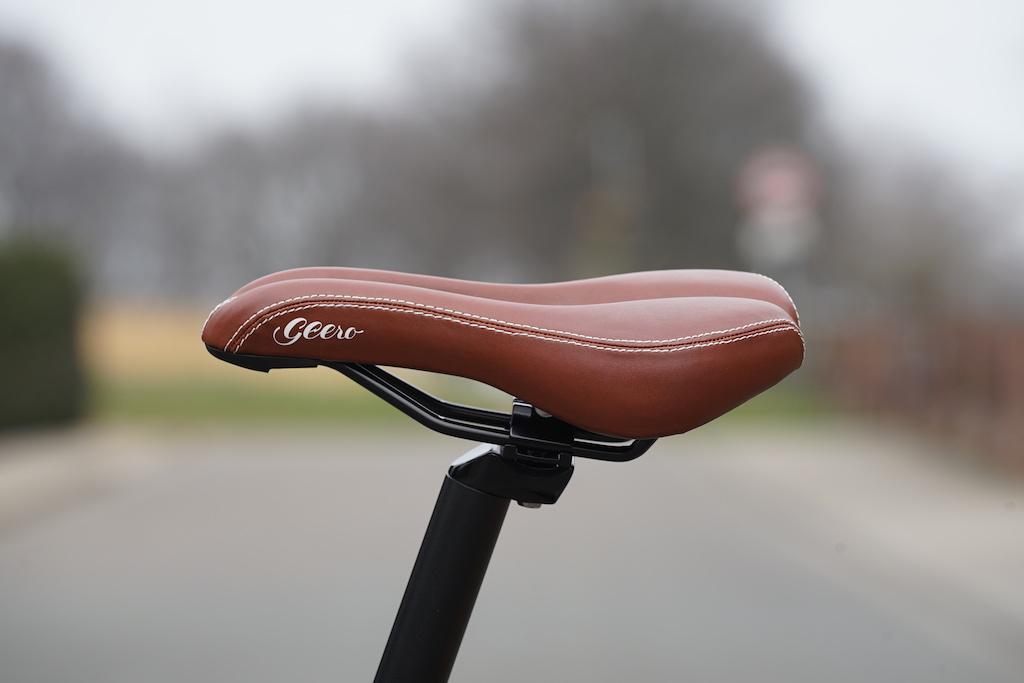 Der Fahrrad-Sattel, ....