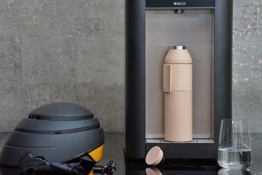 Closca produziert nicht nur innovative Trinkflaschen oder auch faltbare Helme
