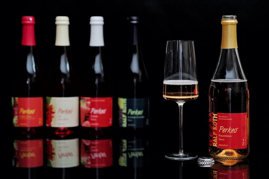 Alkoholfreier Rosenblüten Secco - eine echte Alternative zu alkoholhaltigem Wein bzw. Sekt