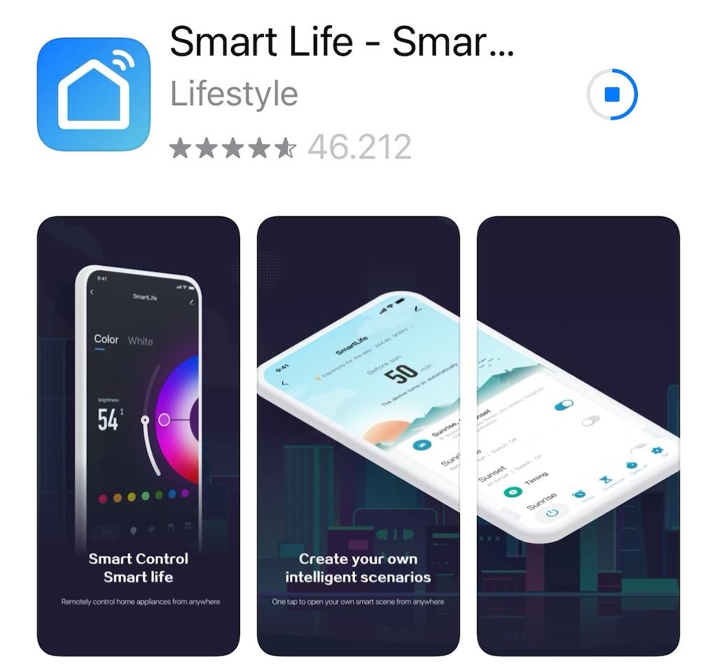 Mit der App Smart Life - Smart Living lässt sich der Roger big auch von unterwegs steuern