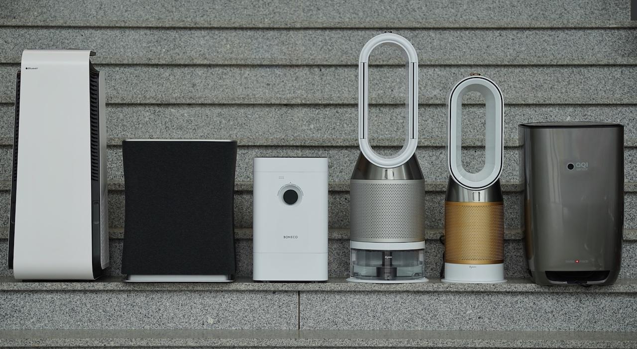 Der große Luftreiniger-Vergleich - die besten Geräte: Blueair, Dyson, Stadler Form, Boneco, Aeris